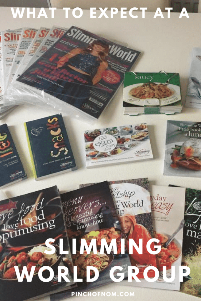 what to expect at a slimming world group pinch of nom