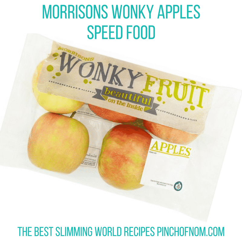 morrisons wonky apples - pinch of nom new slimming world shopping essentials