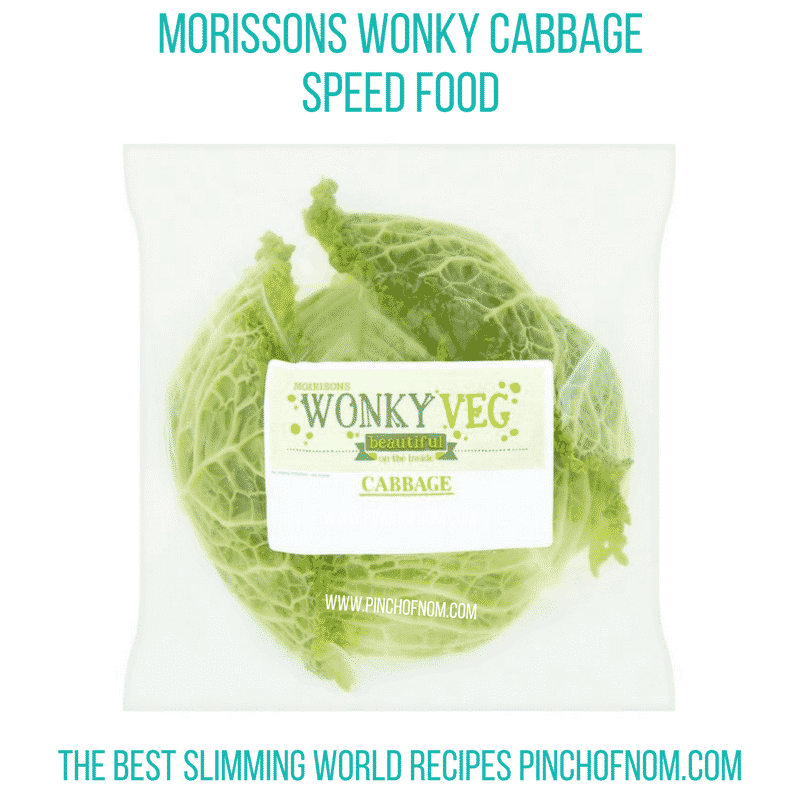 wonky cabbage - pinch of nom new slimming world shopping essentials