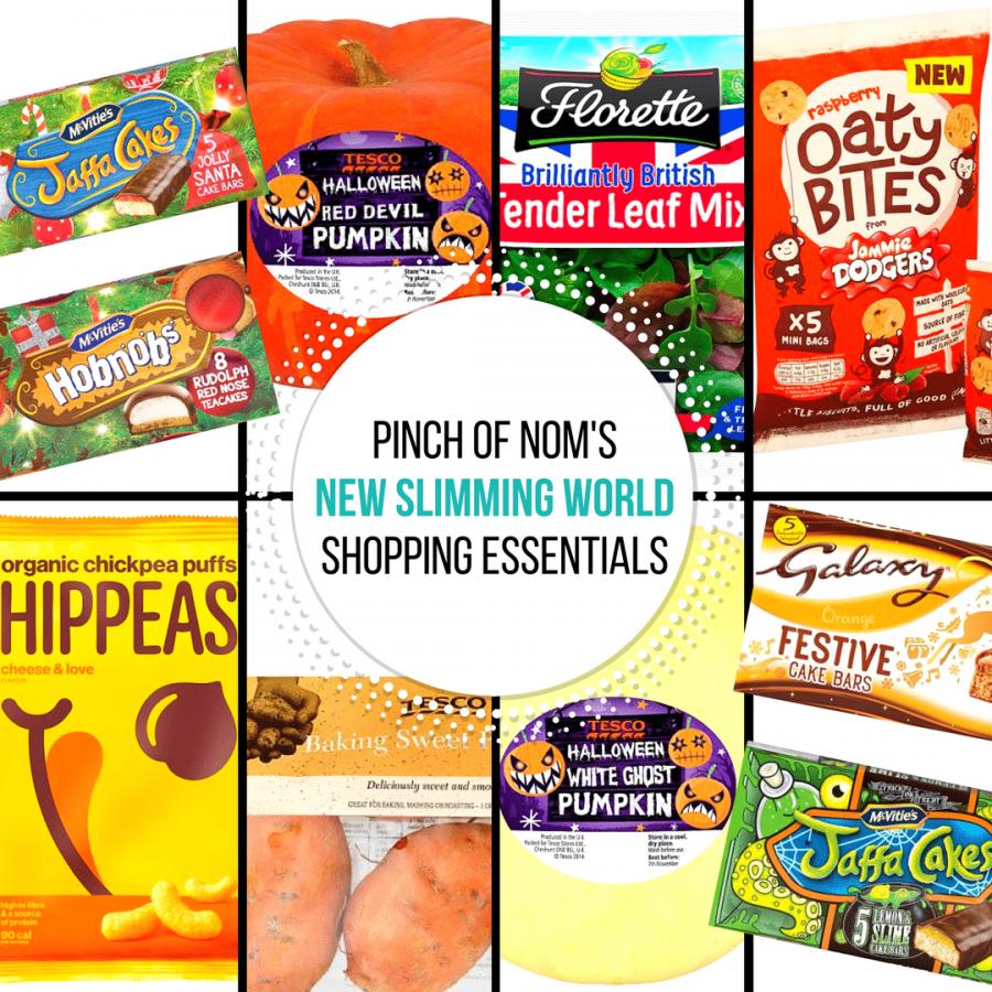 19-10-17 - slimming world shopping essentials pinch of nom