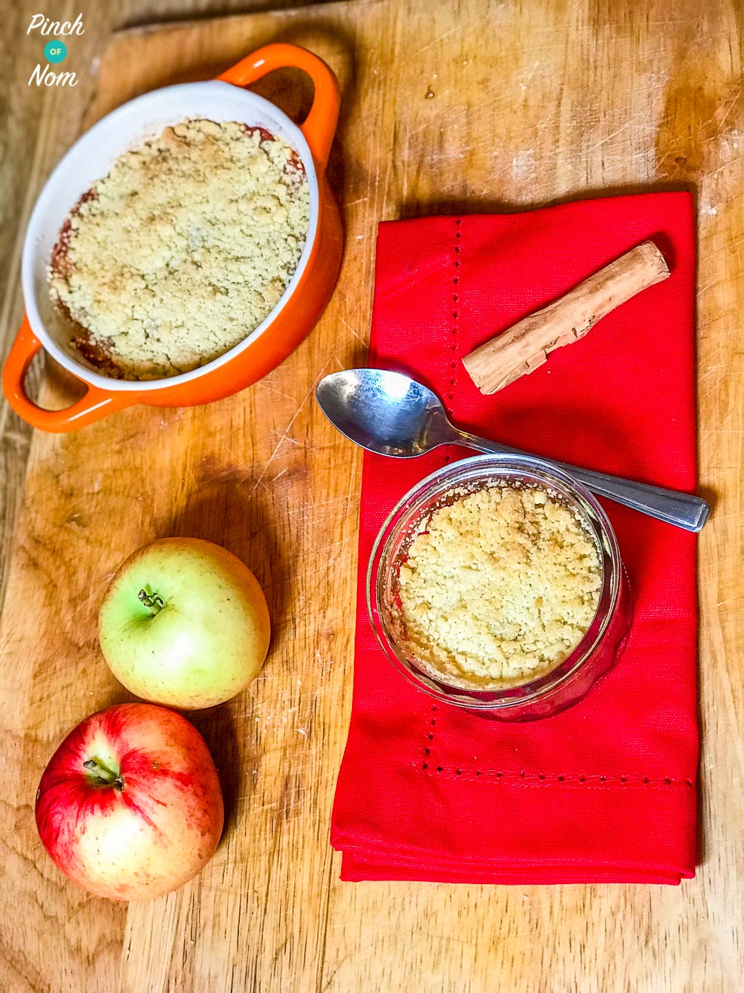 Low Syn Apple Crumble | Slimming World-1