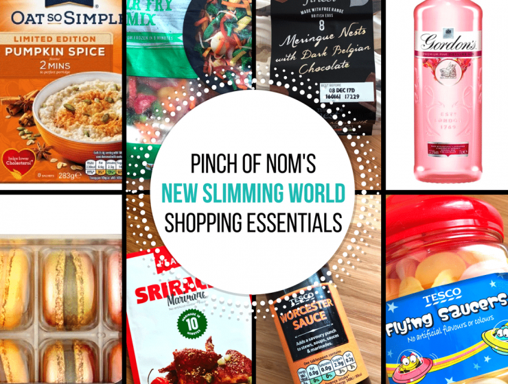 New Slimming World Shopping Essentials 27:10:17