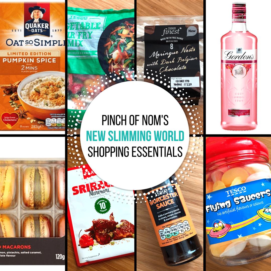 New slimming world shopping essentials 27 10 17 pinch of nom New slimming world meals 2017