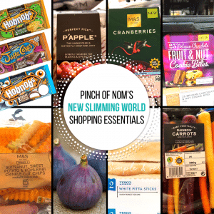 Oct 13 - pinch of nom slimming world shopping essentials