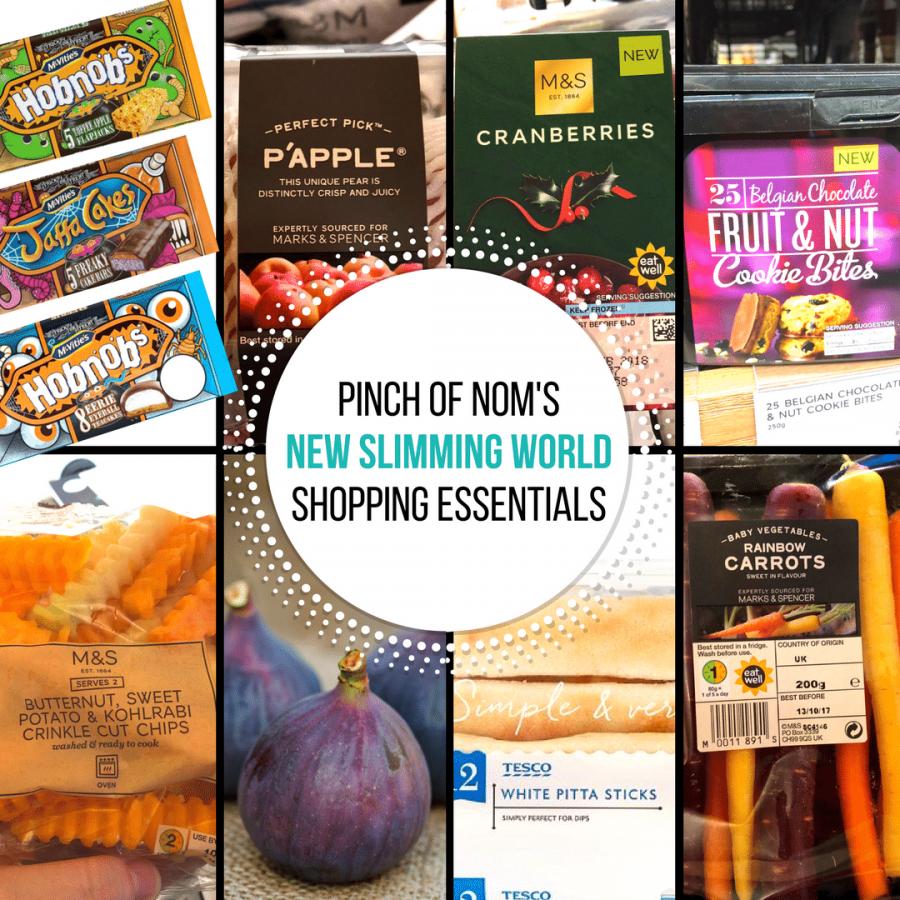Oct 13 - pinch of nom slimming world shopping essentials