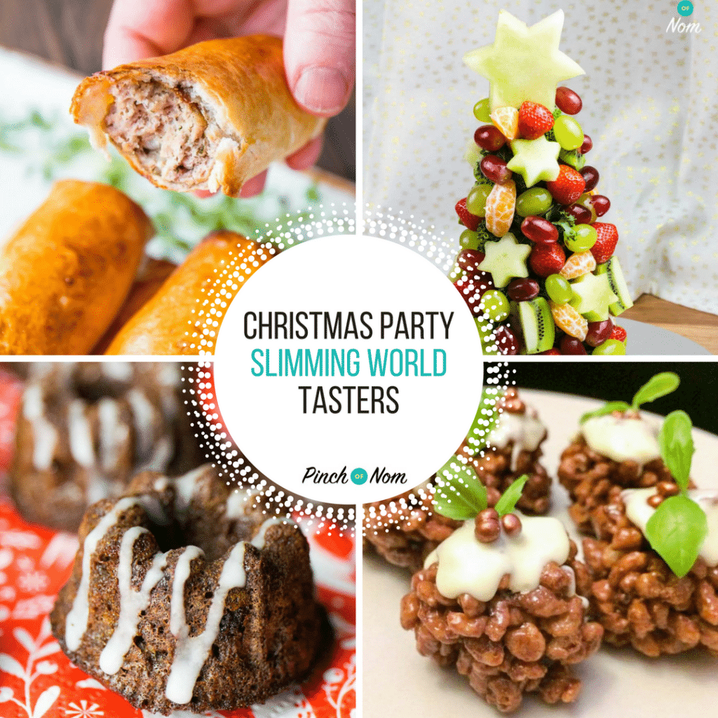 Slimming world christmas tasters slimming world pinch of nom How to lose weight on slimming world