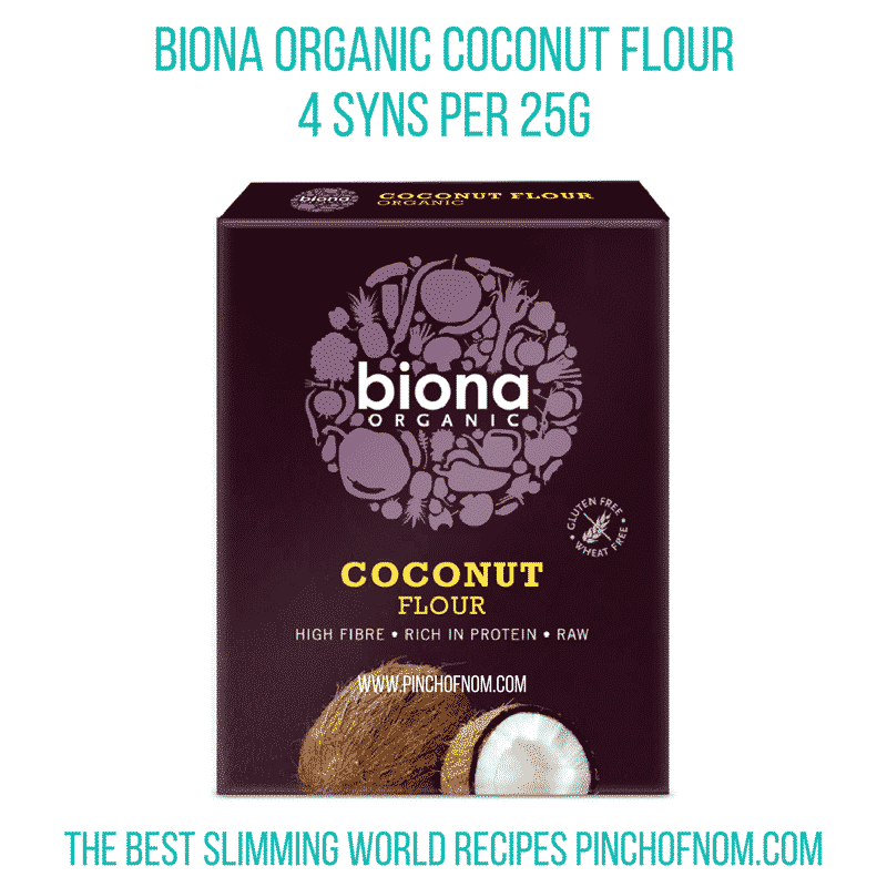 biona coconut flour 2 Syn Chicken Korma Curry | Slimming World