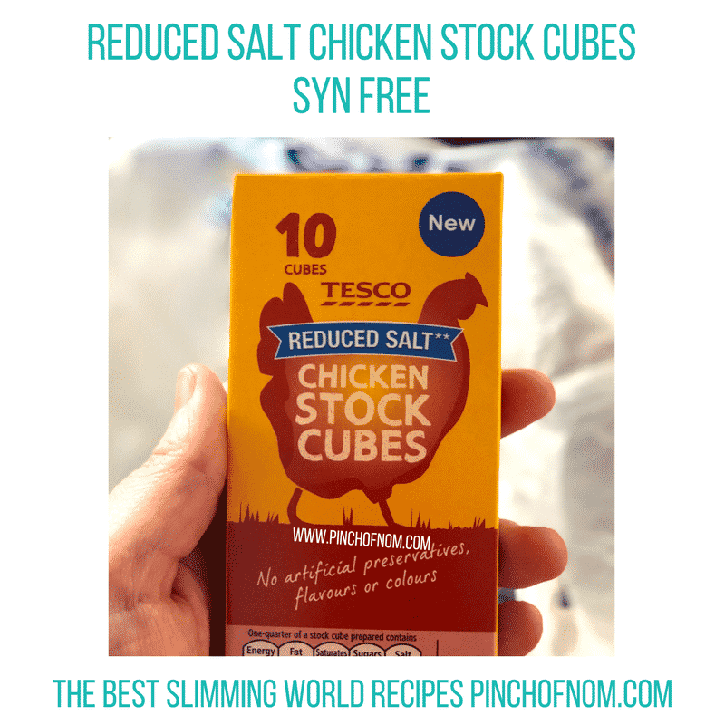chicken stock cubes - first Slimming World Shop