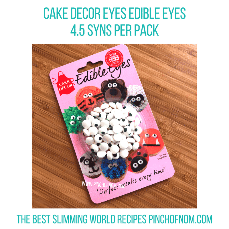 edible eyes - New Slimming World Shopping Essentials 27:10:17