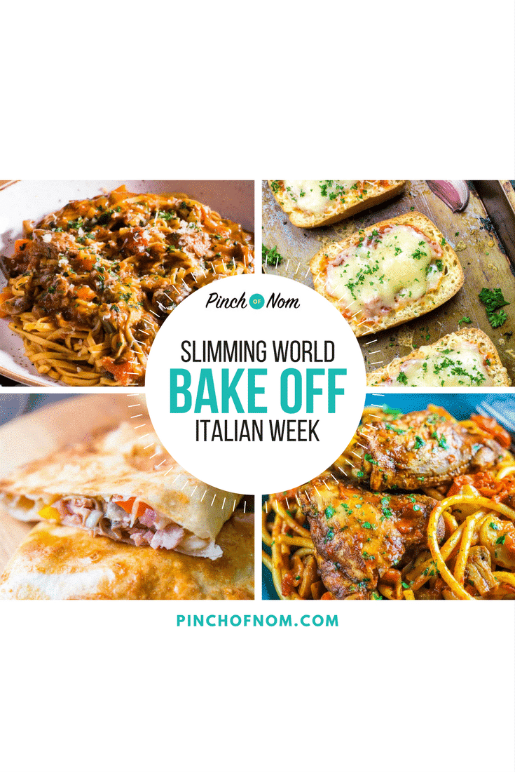 featured image- Bake Off - Italian Week | Slimming World