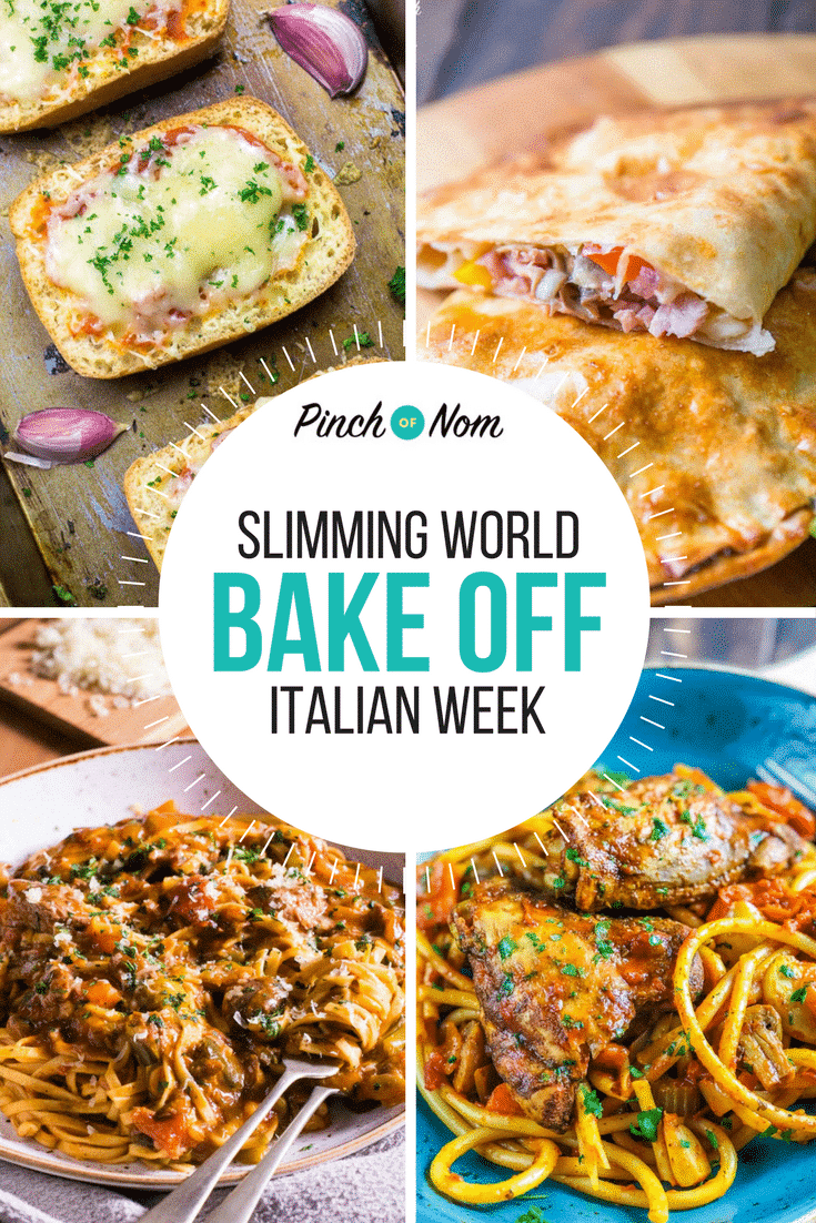 first image- Bake Off - Italian Week | Slimming World
