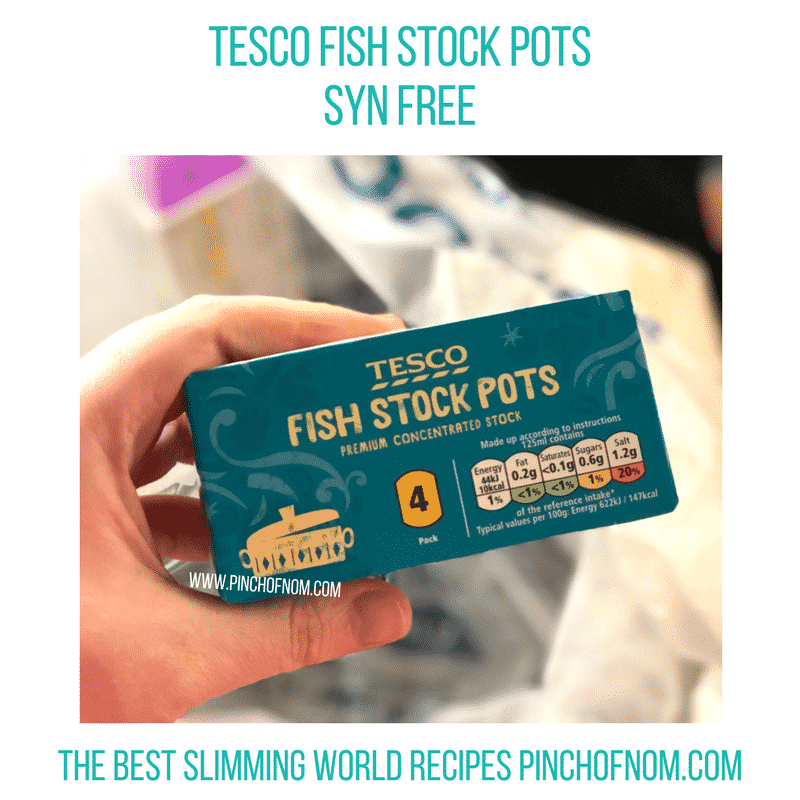 fish stock pots - New Slimming World Shopping Essentials 27:10:17