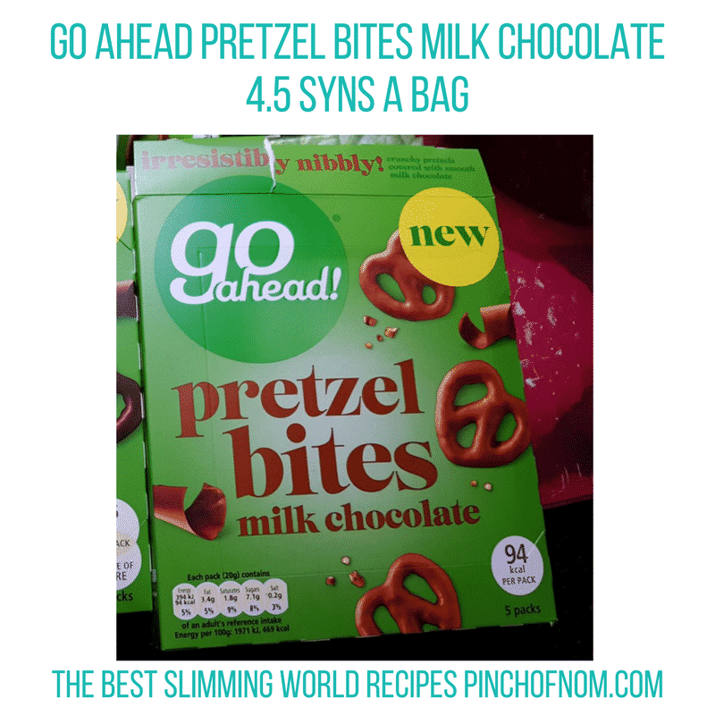 go ahead pretzel bites - pinch of nom slimming world shopping essentials