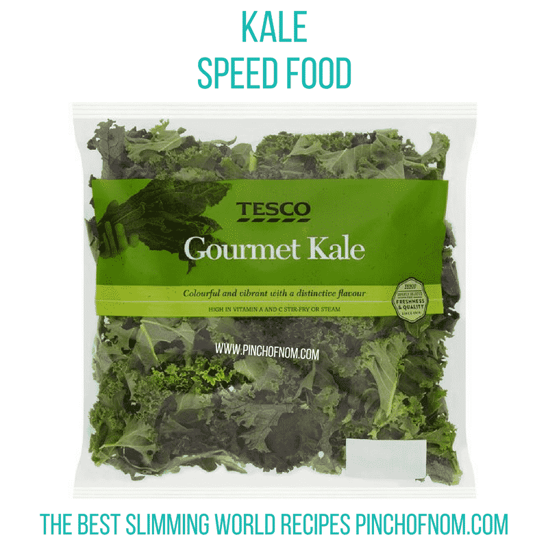 kale - slimming world shopping essentials pin ch of nom