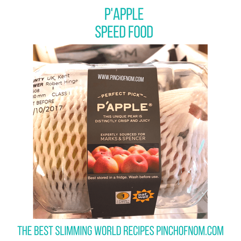 papple - pinch of nom slimming world shopping essentials