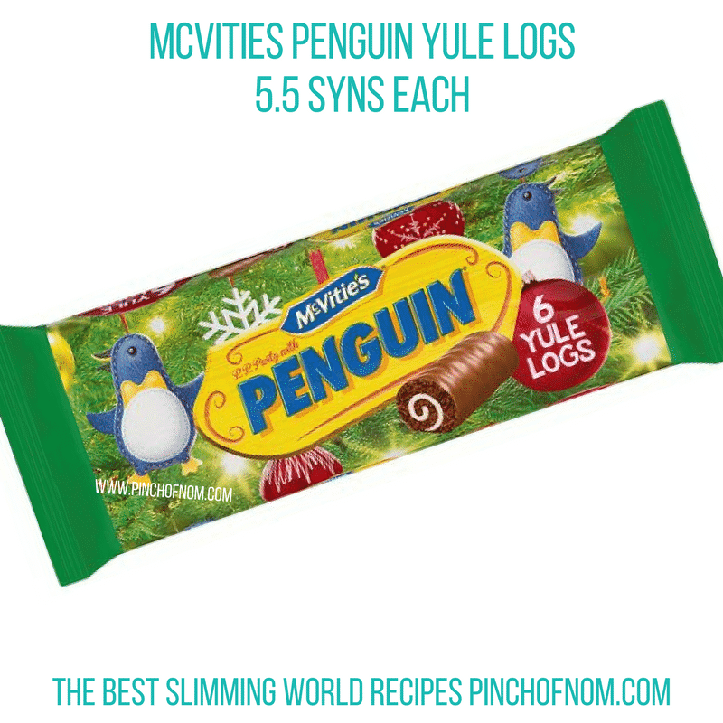 penguin yule logs shopping essentials pinch of nom