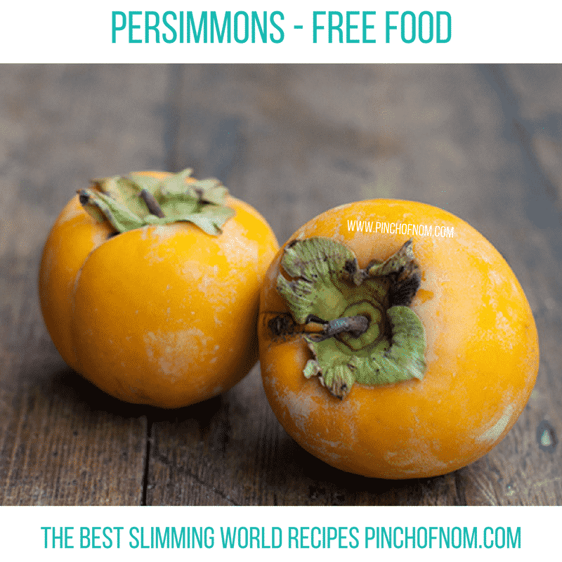 persimmon - New Slimming World Shopping Essentials 27:10:17