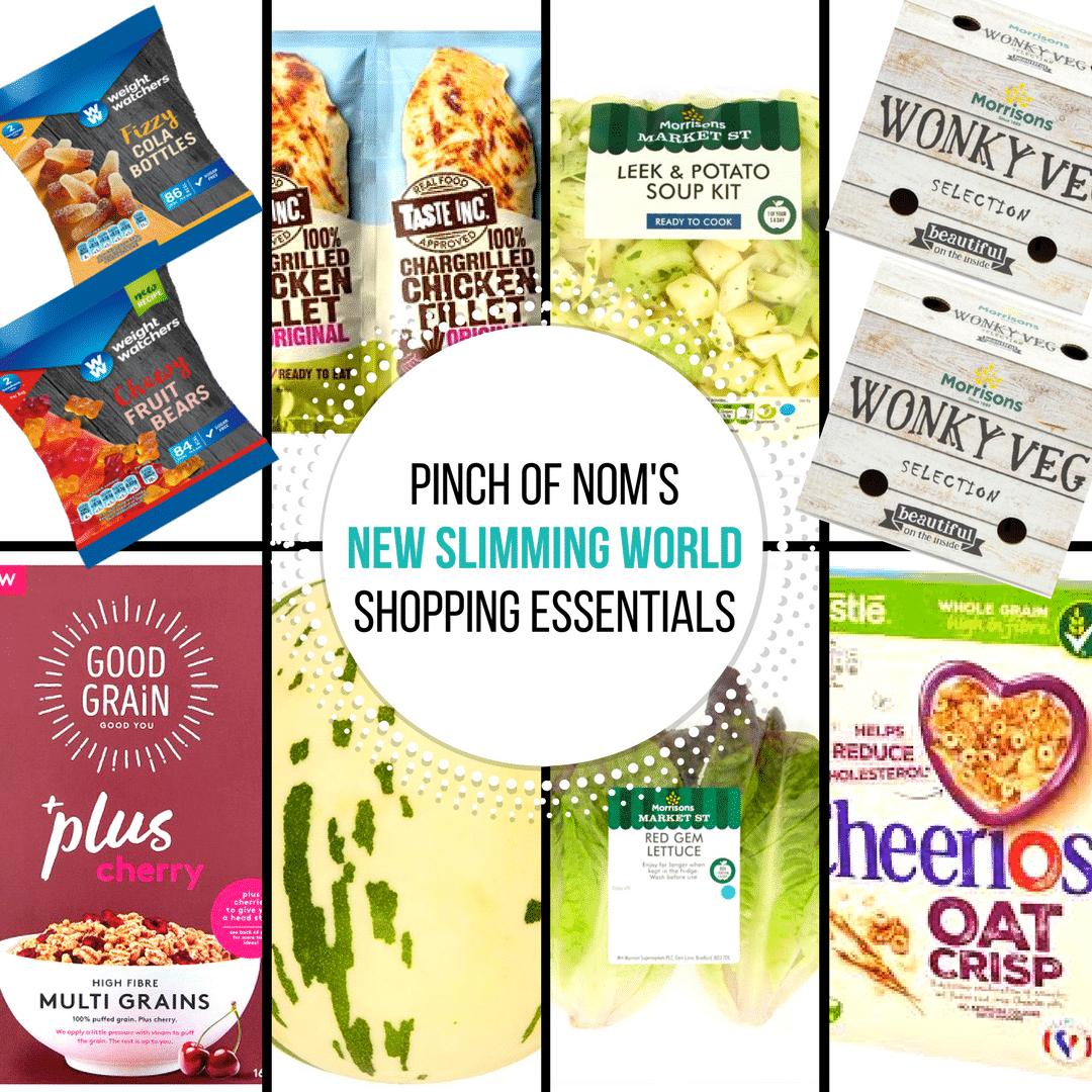 New Slimming World Shopping Essentials 6 10 17 Pinch Of Nom