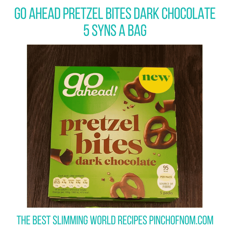 pretzel bites - pinch of nom slimming world shopping essentials