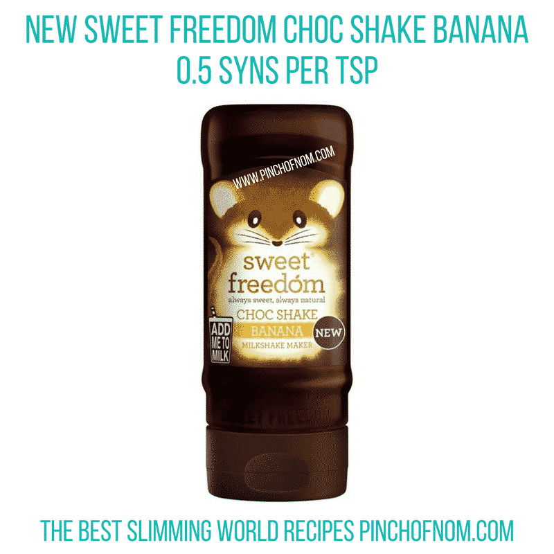 caramel sweet freedom shake - slimming-world-shopping-essentials-pinch-of-nom