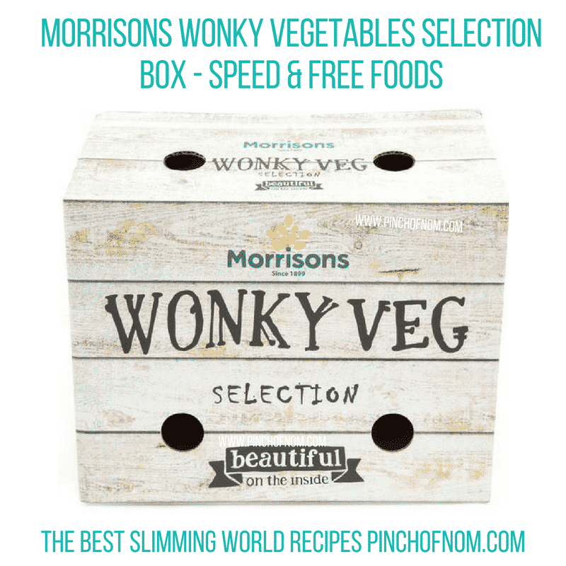 wonky veg box - pinch of nom slimming world shopping essentials october 17