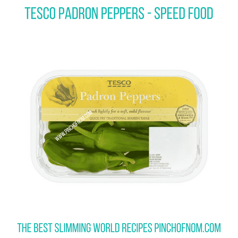 Padron Peppers - Pinch Of Nom Slimming World Shopping Essentials