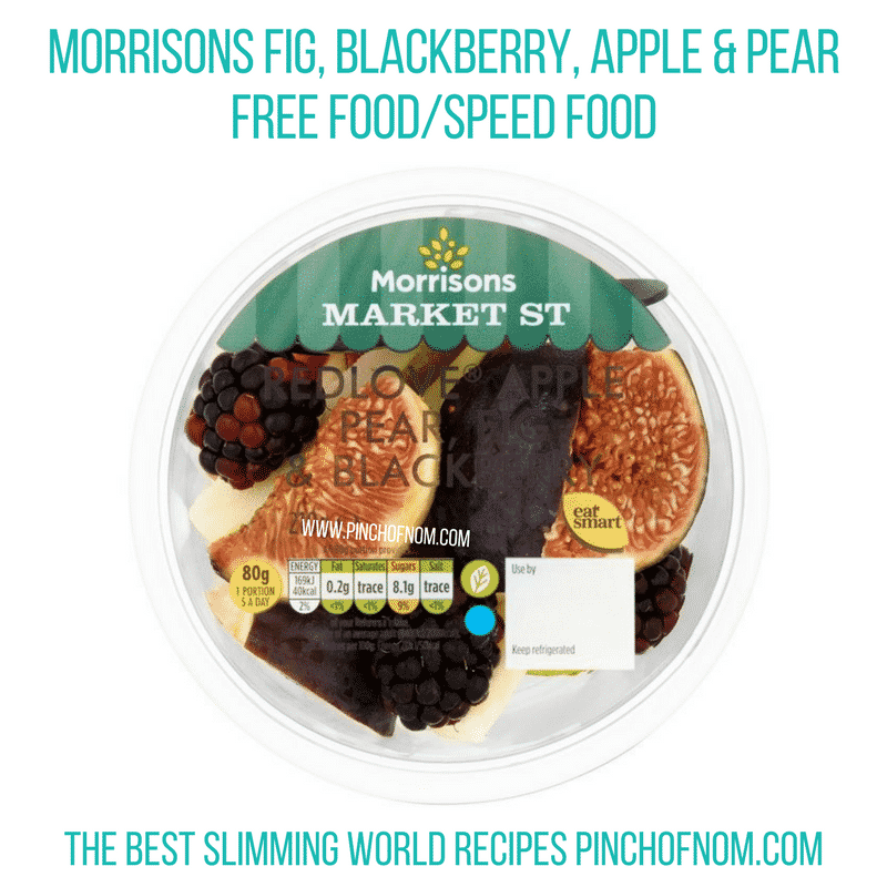 Morrisons Fig, Blackberry, Apple & Pear - Pinch of Nom Slimming World Shopping Essentials