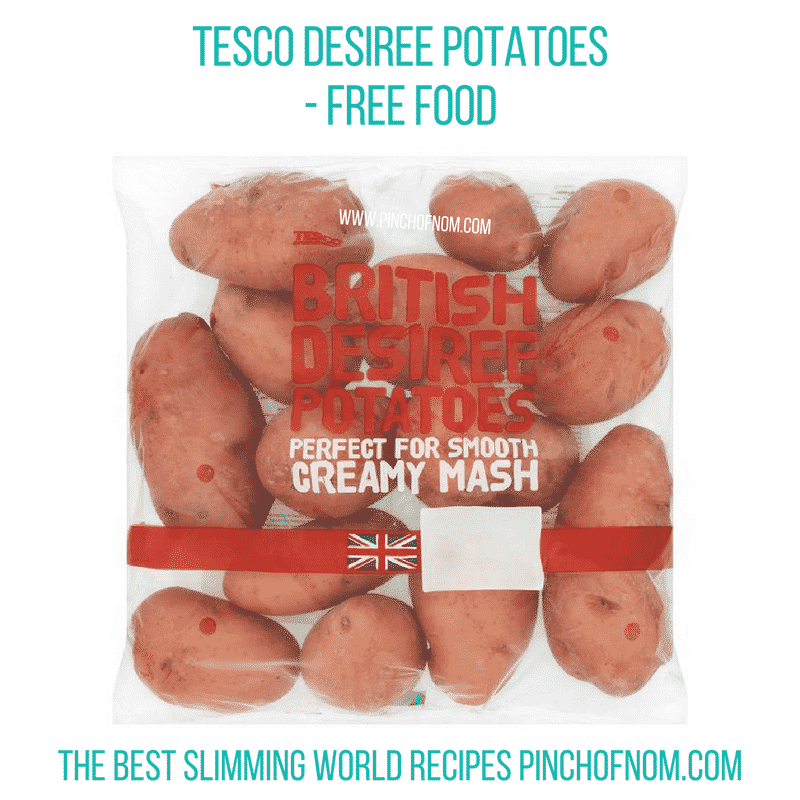 Tesco Desiree Potatoes - Pinch of Nom Slimming World Shopping Essentials