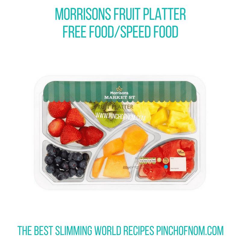 Morrisons Fruit Platter - Pinch of Nom Slimming World Shopping Essentials