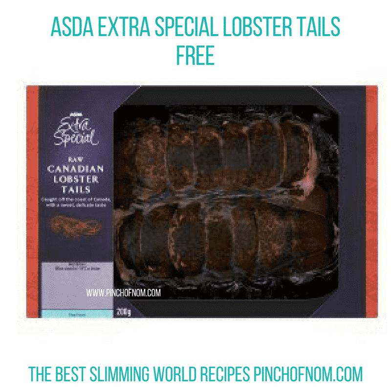 Asda Lobster Tails - Pinch of Nom Slimming World Shopping Essentials