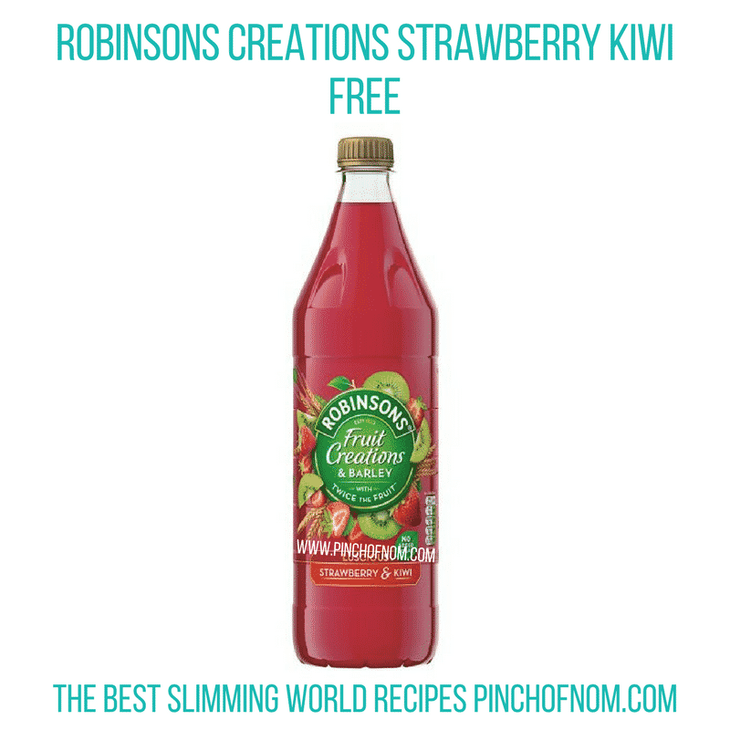 Robinsons Creations Strawberry And Kiwi - Pinch of Nom Slimming World Shopping Essentials