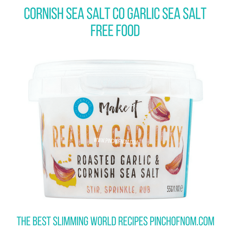 Cornish Sea Salt Roasted Garlic - Pinch of Nom Slimming World Shopping Essentials