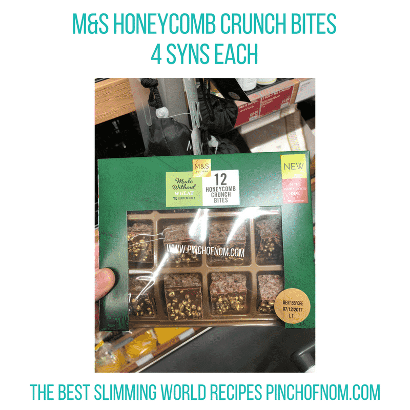 Honeycomb Crunch Bites - Pinch of Nom Slimming World Shopping Essentials