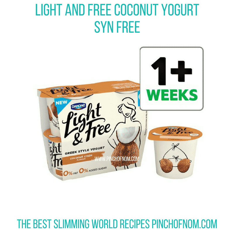 Light and Free Coconut - Pinch of Nom Slimming World Shopping Essentials