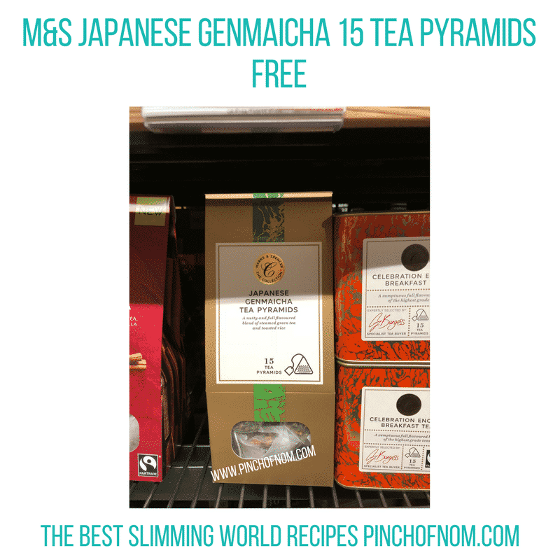 Japanese Genmaicha 15 Tea Pyramids - Pinch of Nom Slimming World Shopping Essentials