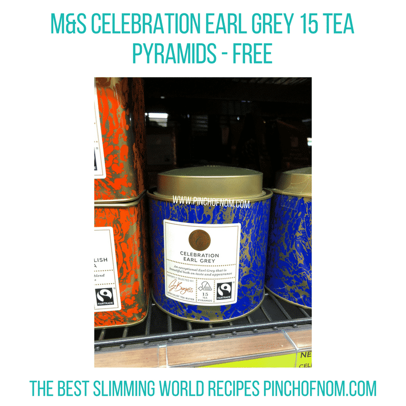 Celebration Earl Grey 15 Tea Pyramids - Pinch of Nom Slimming World Shopping Essentials