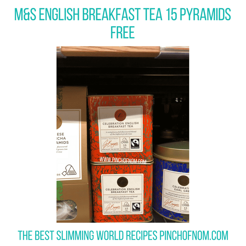 Celebration English Breakfast Tea 15 Pyramids - Pinch of Nom Slimming World Shopping Essentials