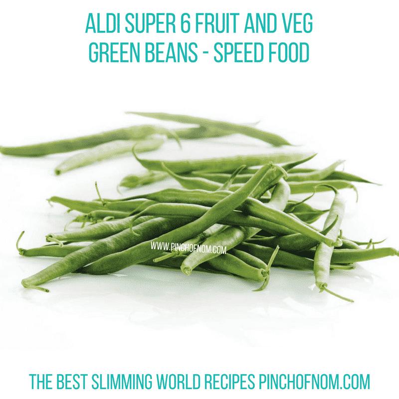 Aldi Super 6 Green Beans - Pinch of Nom Slimming World Shopping Essentials