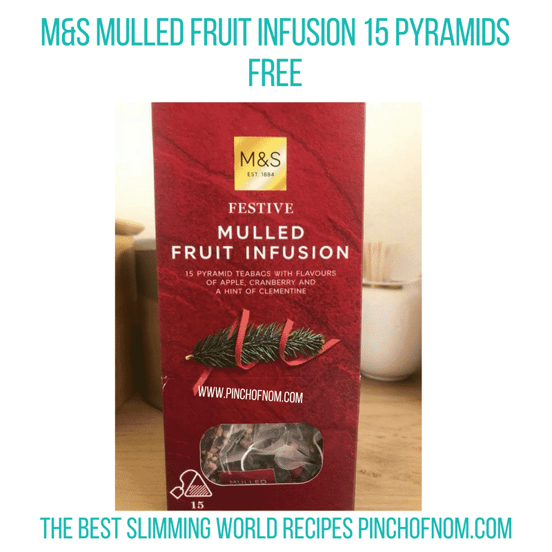 Mulled Fruit Infusion 15 Pyramids - Pinch of Nom Slimming World Shopping Essentials