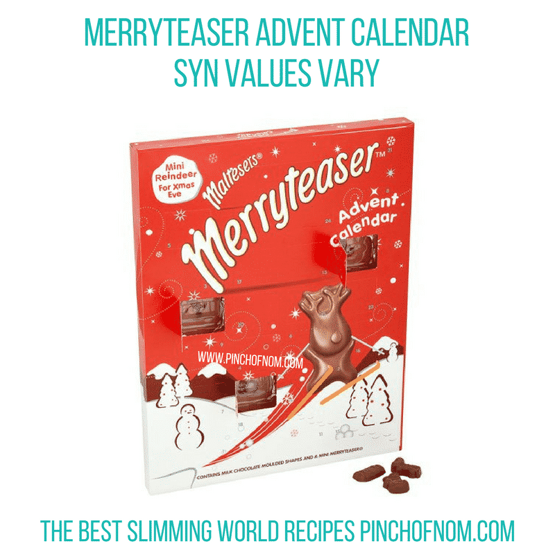Merryteaser Advent Calendar - Pinch of Nom Slimming World Shopping Essentials