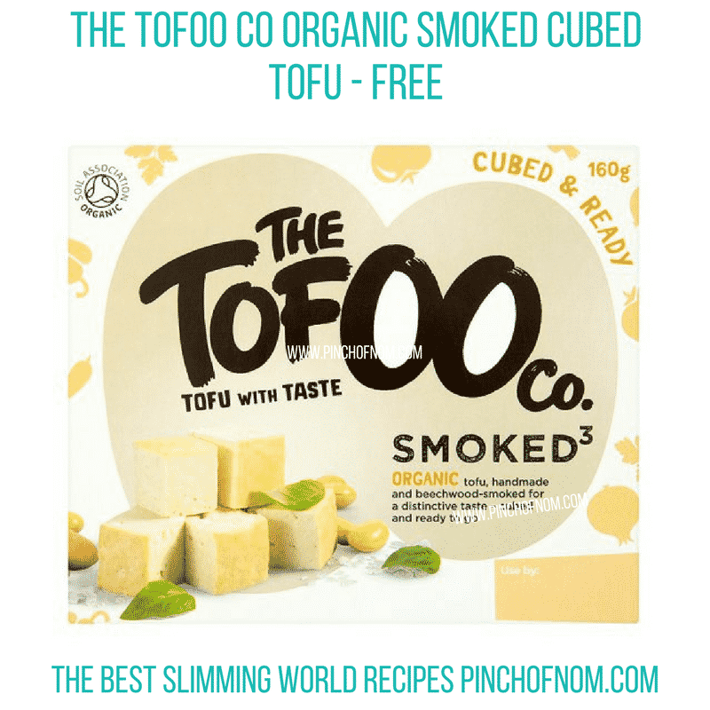 Tofoo Smoked Tofu - Pinch of Nom Slimming World Shopping Essentials