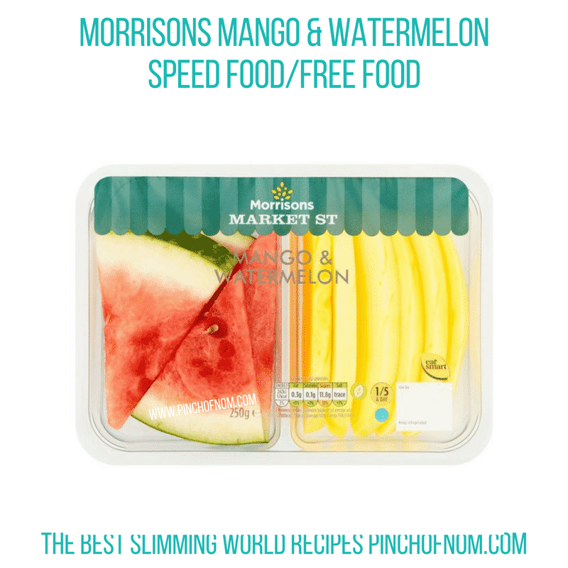 Morrisons Mango & Watermelon - Pinch of Nom Slimming World Shopping Essentials