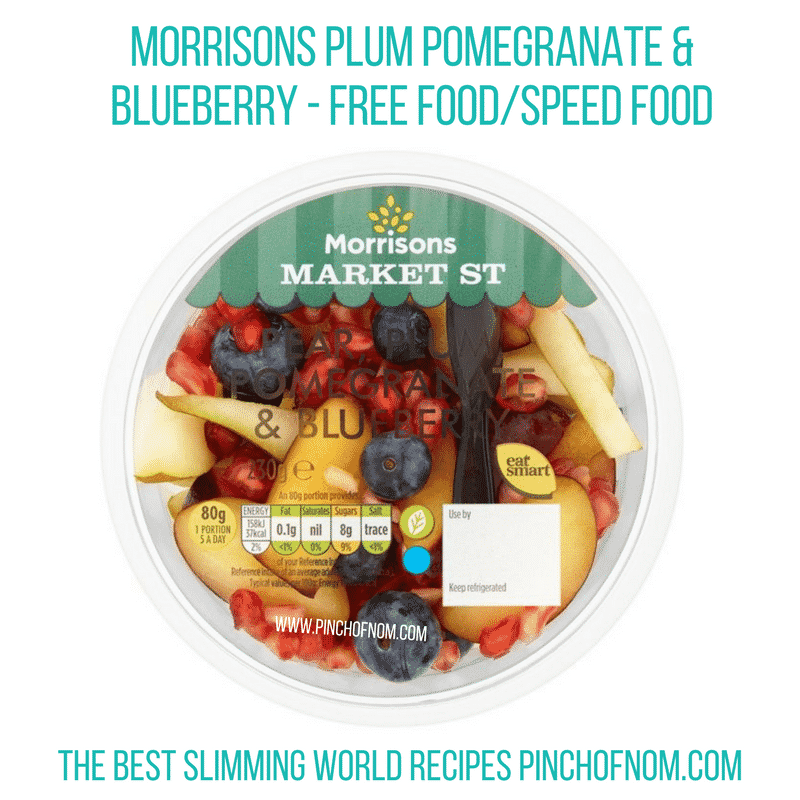 Morrisons Plum Pomegranate & Blueberry - Pinch of Nom Slimming World Shopping Essentials