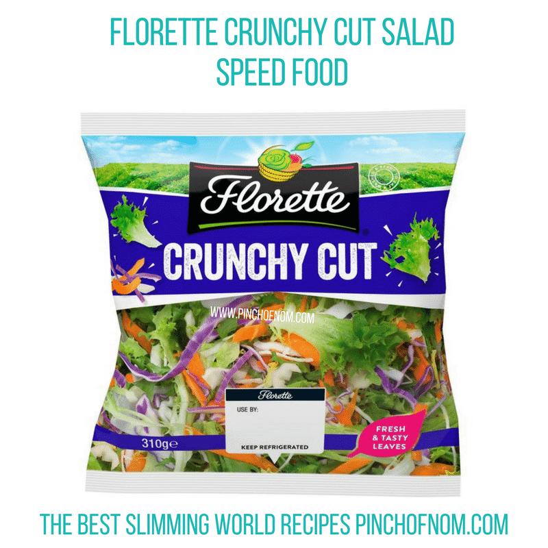 Florette Crunchy Cut Salad - Pinch of Nom Slimming World Shopping Essentials