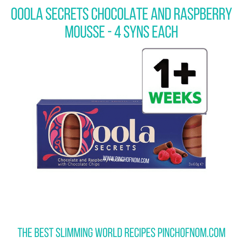 Ooola Chocolate Raspberry Mousse - Pinch of Nom Slimming World Shopping Essentials