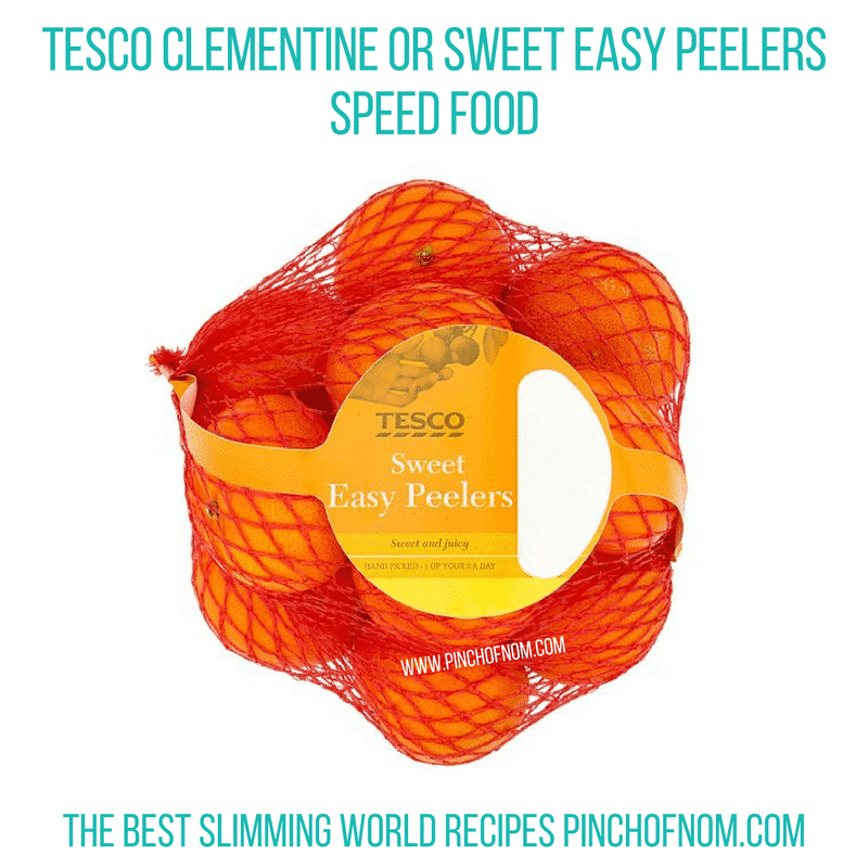 Clementines Easy Peelers - Pinch of Nom Slimming World Shopping Essentials