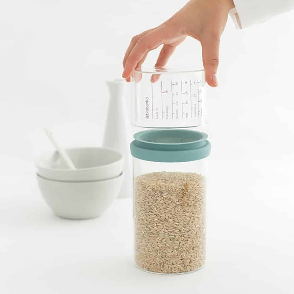 Brabantia Storage Jars with Measuring Cups Review | Slimming World