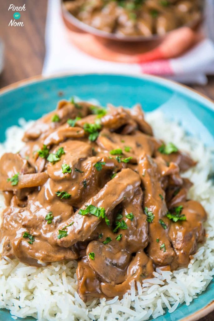 Low Syn Beef Stroganoff | Slimming World-8