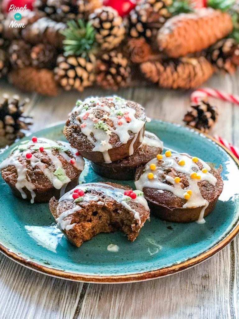 Low Syn Christmas Cakes | Slimming World-9