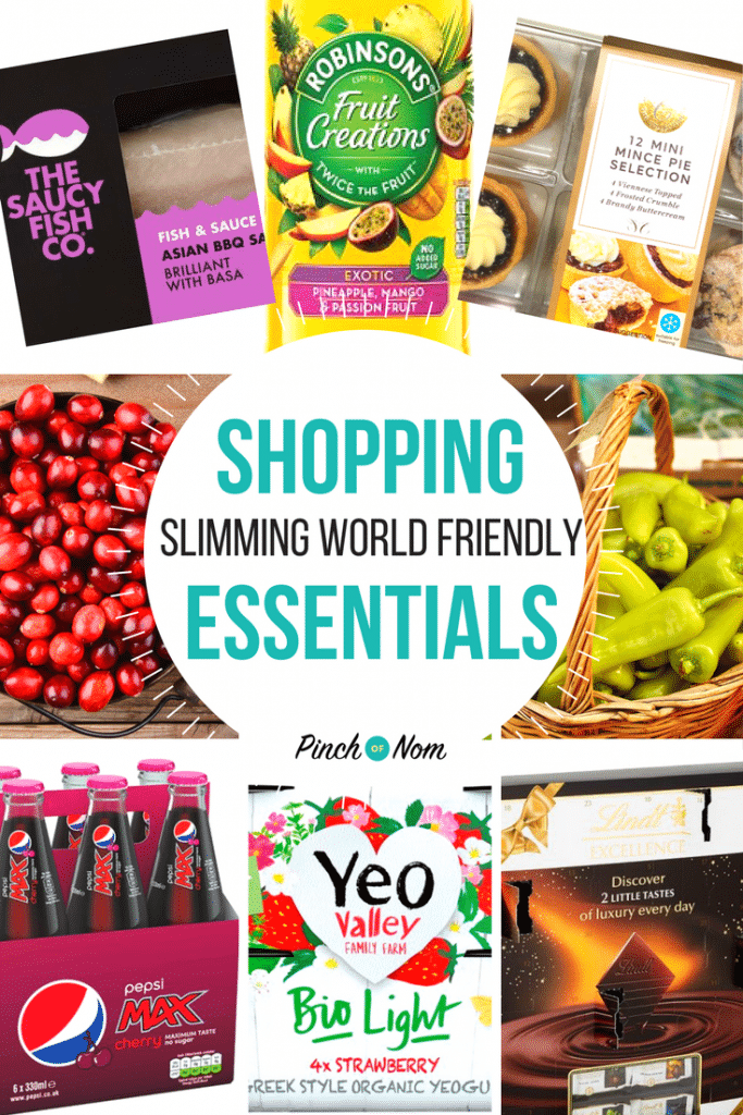 New Slimming World Shopping Essentials 24:11:17 - 1st image